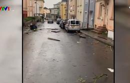 Lốc xoáy quét qua Luxembourg, 19 người bị thương