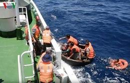 Cứu tàu cá gặp nạn trên biển Đà Nẵng