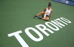 Bianca Andreescu lần đầu vô địch Rogers Cup
