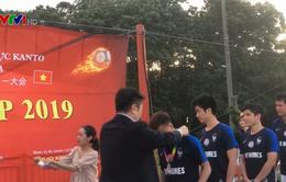 Chung kết giải bóng đá Favija Tokai Cup 2019 tại Nhật Bản