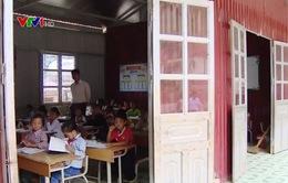 Nhiều nơi còn thiếu cơ sở vật chất dạy học 2 buổi/ngày