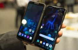 Hé lộ hình ảnh mẫu điện thoại LG 5G màn hình kép