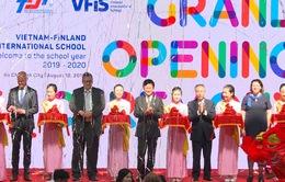 Khánh thành trường Việt Nam - Phần Lan