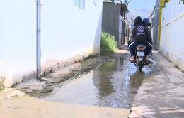 Kiến nghị xây dựng công thoát nước cho khu phố ngập úng