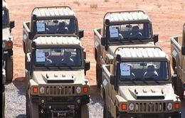 Iran công bố xe bọc thép tối tân Aras-2