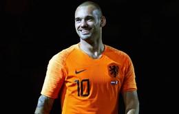 CHÍNH THỨC: Wesley Sneijder tuyên bố giải nghệ