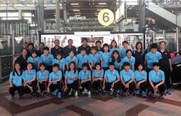 Giải bóng đá nữ Đông Nam Á 2019: ĐT nữ Việt Nam tự tin trước trận mở màn gặp Campuchia