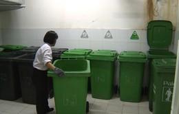 Văn hóa ứng xử với rác tại khu chung cư