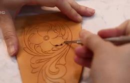 Nghệ thuật điêu khắc trên da thuộc