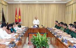 Thủ tướng kiểm tra công tác tu bổ Lăng Chủ tịch Hồ Chí Minh