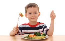 Chế độ ăn uống giúp cải thiện tình trạng tăng động ở trẻ em