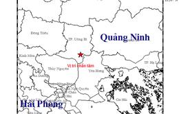 Quảng Ninh xuất hiện động đất
