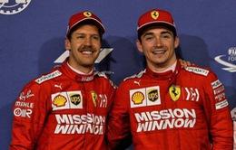 Ferrari tiếp tục đặt niềm tin vào Vettel và Leclerc ở mùa 2020