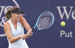 Maria Sharapova dừng bước tại vòng 2 Cincinnati mở rộng