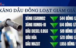 Giá xăng, dầu đồng loạt giảm hơn 500 đồng/lít