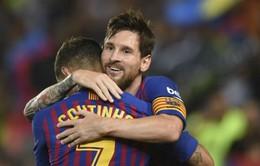 Barcelona xác nhận Messi vắng mặt ngày ra quân La Liga