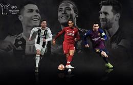 Van Dijk, Messi và Ronaldo có tên trong đề cử Cầu thủ xuất sắc nhất năm của UEFA