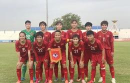 ĐT nữ Việt Nam thắng đậm Campuchia 10-0 ở trận ra quân giải vô địch Đông Nam Á 2019
