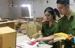 Phát hiện cơ sở in sách lậu tại Hà Nội
