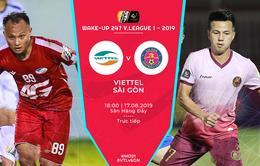 CLB Viettel 0-1 CLB Sài Gòn: 3 điểm quan trọng! (Vòng 21 V.League 2019)