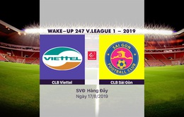 VIDEO Highlights: CLB Viettel 0-1 CLB Sài Gòn (Vòng 21 Wake-up 247 V.League 1-2019)