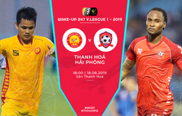 CLB Thanh Hoá 0-3 CLB Hải Phòng: Chiến thắng xứng đáng của CLB Hải Phòng!