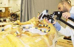 Ai Cập phục chế quan tài lớn của Pharaoh Tutankhamun