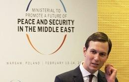 Mỹ công bố kế hoạch hòa bình Trung Đông vào tháng sau
