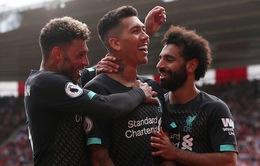 Kết quả, bảng xếp hạng Ngoại hạng Anh vòng 2: Liverpool cùng Arsenal tạm dẫn đầu