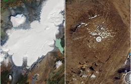 """Sông băng đầu tiên tại Iceland """"biến mất"""" do biến đổi khí hậu"""