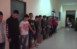 Bắt 2 nhóm thanh niên hỗn chiến ở Bến Tre