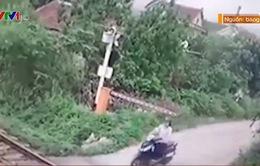 Vội vàng vượt đường sắt sang đường, một phụ nữ thiệt mạng