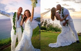 Dwayne Johnson bí mật kết hôn tại Hawaii