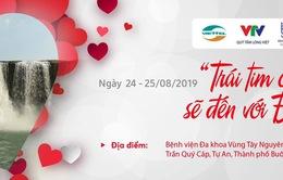 Khám sàng lọc tim bẩm sinh miễn phí cho trẻ em tại Đắk Lắk