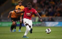 Wolverhampton 1-1 Manchester United: Pogba đá hỏng 11m, Manchester United chia điểm đáng tiếc