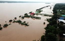 Cảnh báo nguy cơ lũ lụt trên sông Mekong