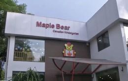 Vụ cô giáo trường Maple Bear nhốt trẻ vào tủ quần áo: Trường tự gắn mác quốc tế