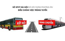 Điều chỉnh lộ trình 43 tuyến xe bus theo trục metro Cát Linh - Hà Đông