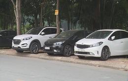 150 điểm trông giữ xe trái phép tại quận Hoàng Mai, Hà Nội