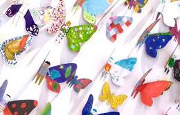 """Triển lãm """"hóa thành bươm bướm"""" của trẻ em khuyết tật"""