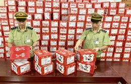 Tạm giữ gần 57.000 bánh dẻo nhãn hiệu Mashu nhập lậu
