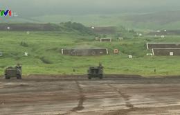 Nhật Bản diễn tập bắn đạn thật gần núi Phú Sĩ