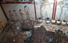 Phát hiện ngôi mộ hoàng gia 1.300 tuổi bị chôn vùi dưới sân trường tiểu học
