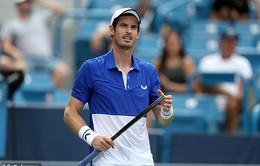 Andy Murray trở lại thi đấu tại Challenger Tour