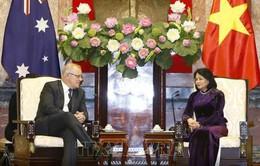 Phó Chủ tịch nước Đặng Thị Ngọc Thịnh tiếp Thủ tướng Australia