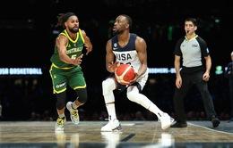 Đội tuyển bóng rổ Mỹ có trận giao hữu thành công tại Australia