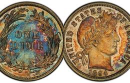 Kinh ngạc đồng tiền 10 xu được bán với giá 1,3 triệu USD