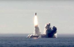 Nga thử thành công nhiều tên lửa đạn đạo từ tàu ngầm hạt nhân