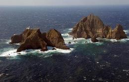 Hàn Quốc tập trận tại quần đảo tranh chấp với Nhật Bản