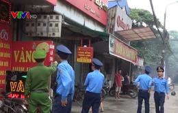 Hà Nội xử lý vi phạm hành lang an toàn giao thông